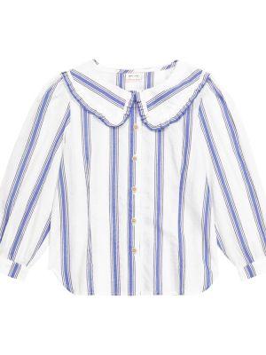 Biała koszula bawełniana vintage Morley