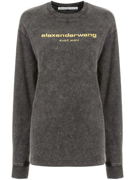 Bluza z haftem Alexander Wang