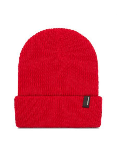 Czerwona czapka beanie Brixton