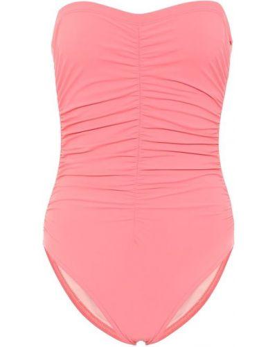 Baza nylon różowy strój kąpielowy bandee Karla Colletto