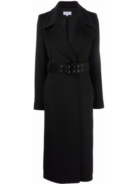 Шерстяное пальто - черное Patrizia Pepe