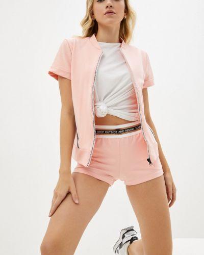Розовый спортивный спортивный костюм Rene Santi