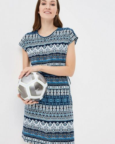 Синее платье весеннее Iwie