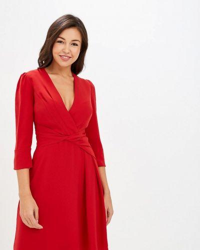 Платье красный осеннее Karen Millen