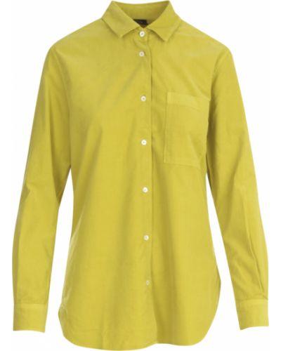 Żółta koszula Aspesi