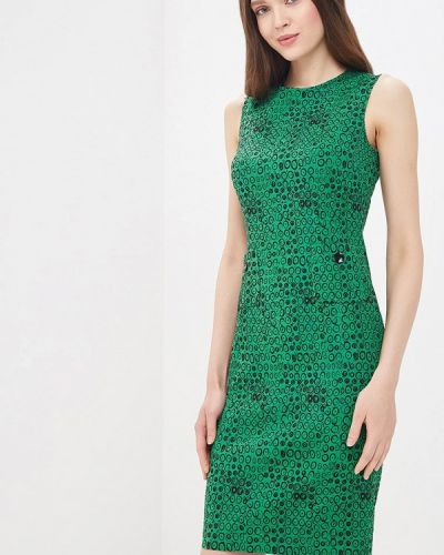 Платье зеленый Galina Vasilyeva