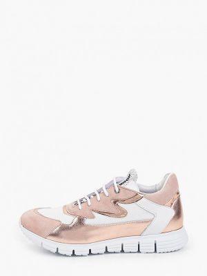 Весенние кроссовки золотые Roobins