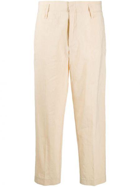 Укороченные брюки с завышенной талией с карманами Forte Forte