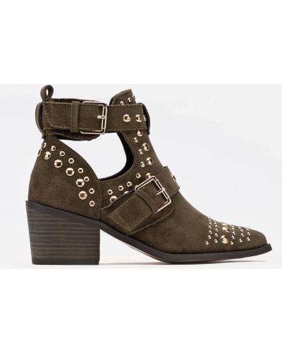 Яркие ботинки - зеленые Deezee