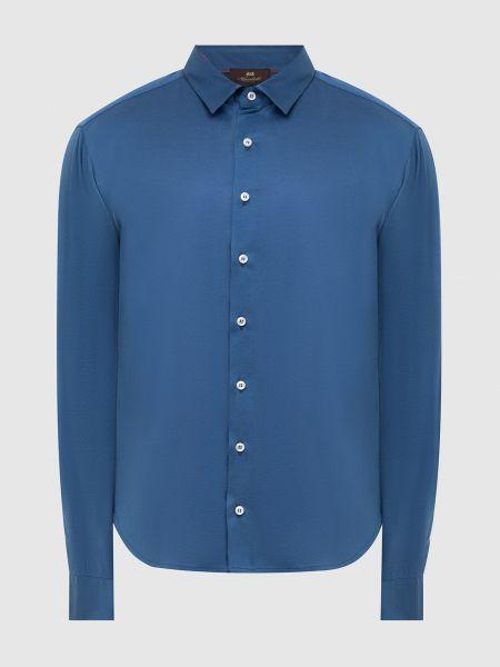 Рубашка - синяя Enrico Mandelli