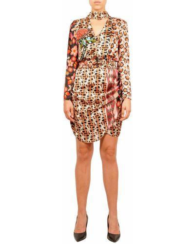 Pomarańczowa sukienka Hanita