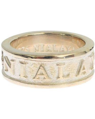 Szary pierścionek Nialaya