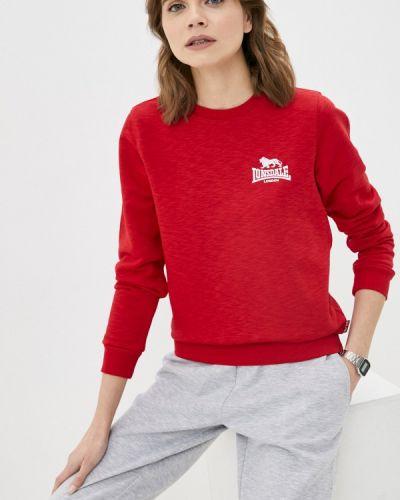 Красная свитшот Lonsdale