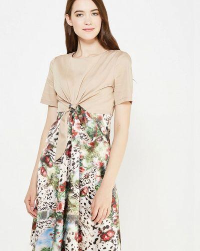 Повседневное платье - бежевое Adzhedo