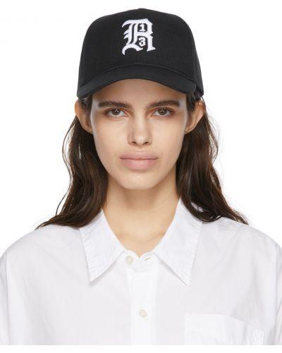 Бейсболка с вышивкой - белая R13