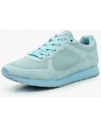 Голубые кроссовки из искусственной кожи Patrol