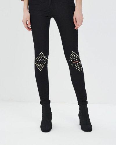 Черные джинсы Regular