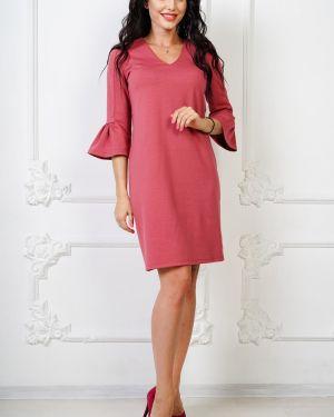 Летнее платье розовое платье-сарафан Taiga