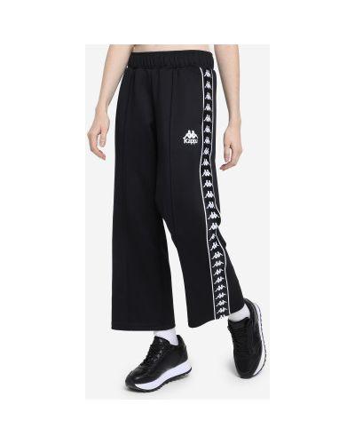 Свободные черные брюки свободного кроя Kappa