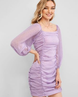 Платье макси с цветочным принтом длинное Zaful