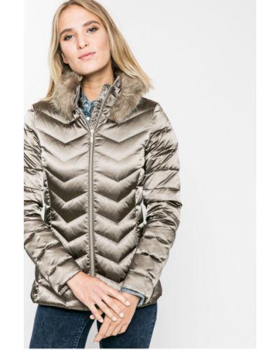 Стеганая куртка утепленная прямая Geox