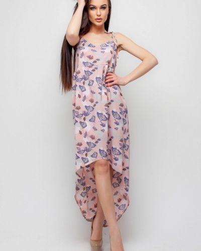 Розовое платье весеннее Karree