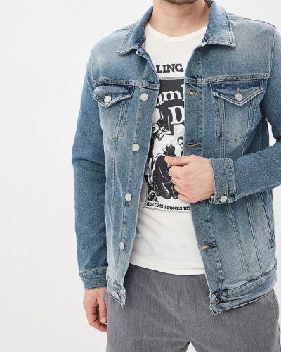 Джинсовая куртка голубой Selected Homme