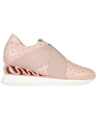 Кроссовки розовый Le Silla