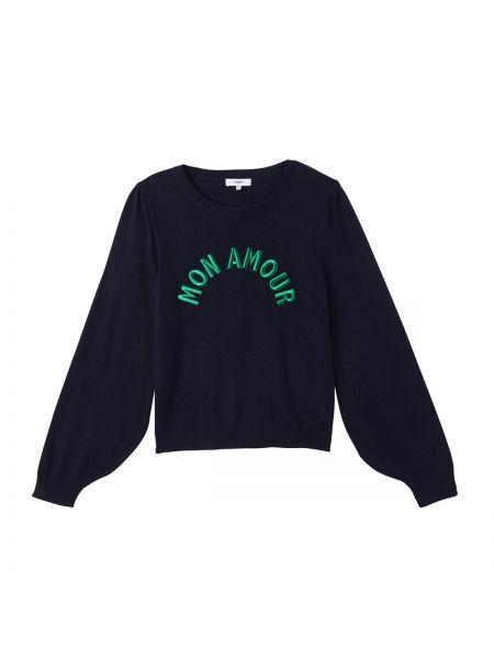Пуловер с вышивкой кашемировый Suncoo