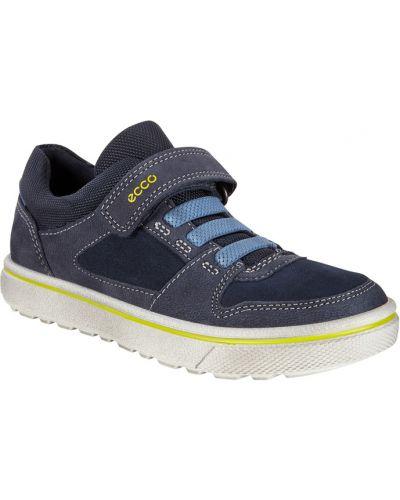 Кеды кожаный на шнурках Ecco
