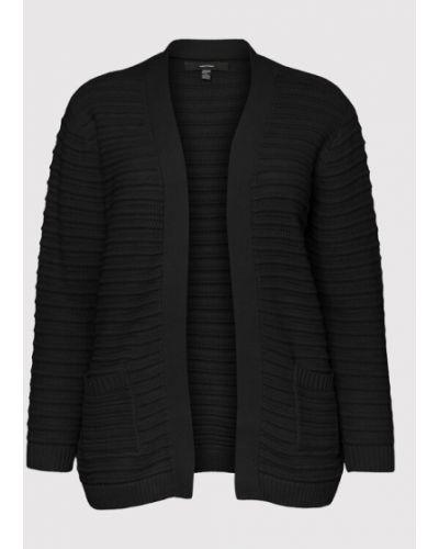 Kardigan - czarny Vero Moda Curve