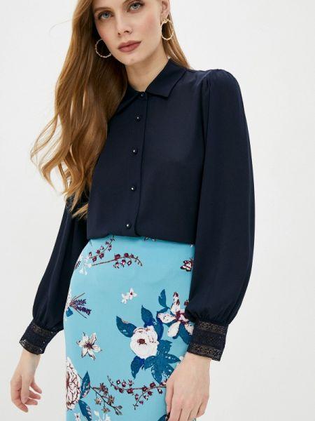 Блузка с длинным рукавом синяя весенний The Kooples