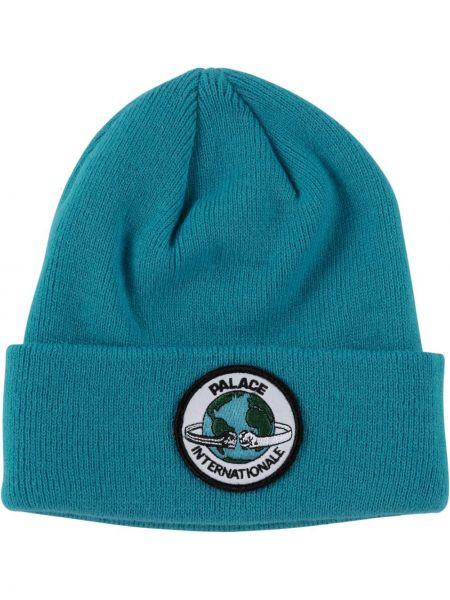 Zimowy kapelusz z logo Palace