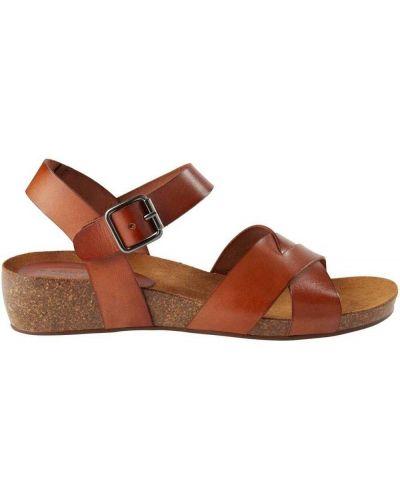 Brązowe sandały Pavement