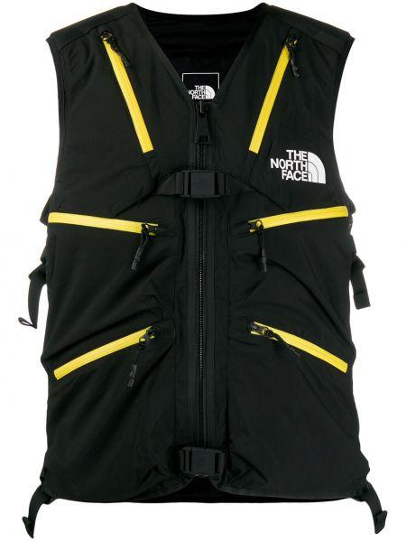 Żółta kamizelka bez rękawów z nylonu The North Face Black Series