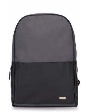Czarny plecak Solier