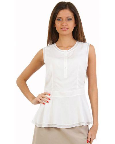ab66ab079617 Белая блузка из вискозы Perspective
