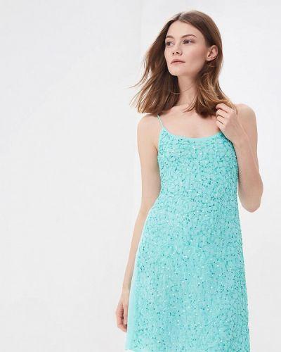 Бирюзовое платье весеннее Phard