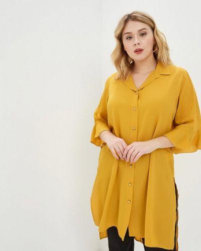 Туника итальянская желтый Over
