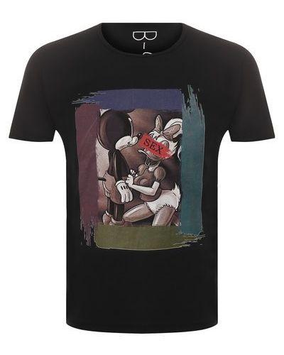 Микки маус хлопковая футболка Bisibiglio