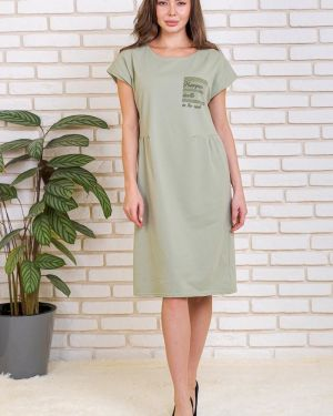 Платье макси со складками платье-сарафан Lika Dress