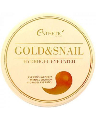 Патчи для глаз с золотом от морщин Esthetic House