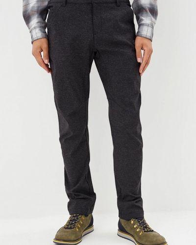 Черные брюки повседневные Jack Wolfskin