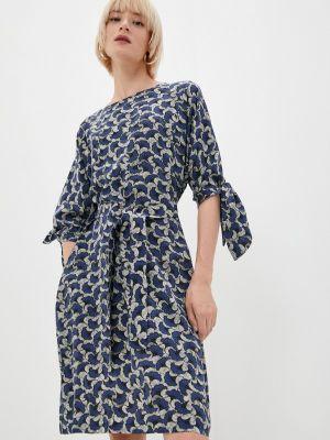 Повседневное платье - синее Weekend Max Mara