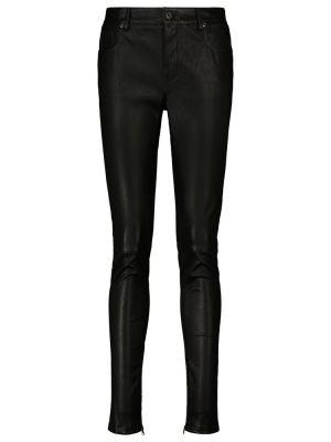 Черные зауженные брюки Tom Ford