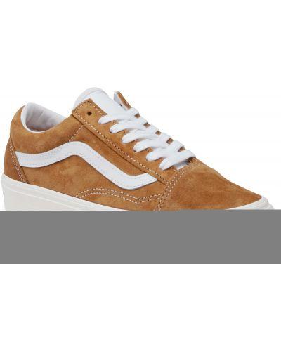 Zamsz brązowy sneakersy Vans