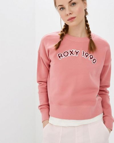 Толстовка розовый Roxy