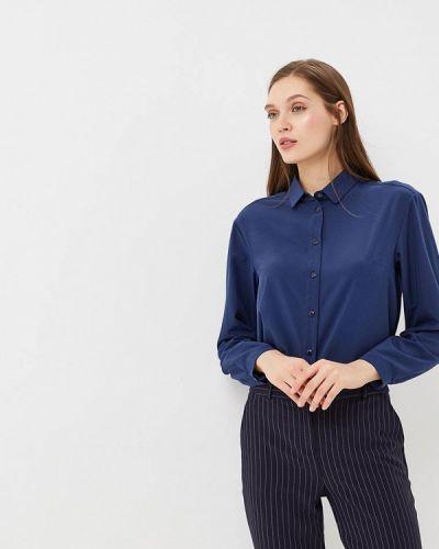 Блузка с длинным рукавом синяя весенний Ruxara