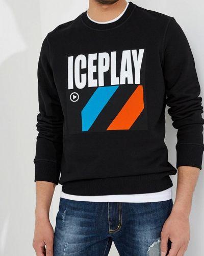Черная толстовка Ice Play
