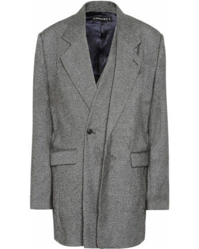 Классический пиджак с подстежкой Y/project